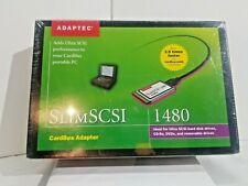 New listing Adaptec Slimscsi 1480 Cardbus Adapter