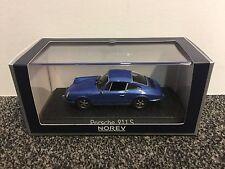 Porsche 911 S 2.4 1973 Blue Metallic 1:43 Norev