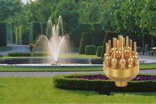 """1"""" Water Fountain Nozzle Brass 3 Tier Layers 17 Sprinklers Adjustable Spray Head"""