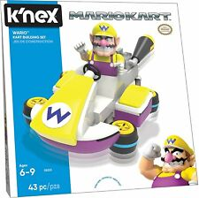 Knex Mario Kart 8 - Wario Kart Building Set - Brand New Free Shipping #soct17-27