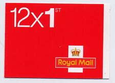 Gb 2014 12 x 1st Class Self Adhesive Booklet Mf7 M14L Tel.08457 Variety Red Dot