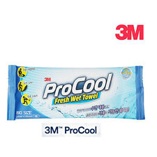 "3M ProCool Fresh Wet Cooling Towel Big Size Tissue 1 Pack 12.5"" x 25.6"""