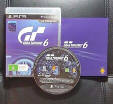 Gran Turismo 6 (Sony PlayStation 3, 2013) PS3 Game - FREE POST