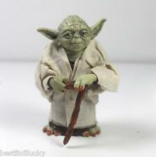 New Hot Star Wars Master Yoda Knight Attack Statue PVC Action Figure Toys  Loose