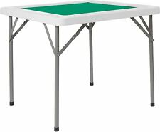 Flash Furniture Green Felt Folding Game Table New