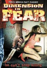 Dimension in Fear DVD UNRATED Ted V. Mikels, Nicole West - NEW