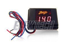 Stinger Pro Svmr Voltmeter 3 Digit Red Led Voltage Display Gauge Voltage Meter