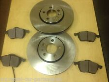 VW GOLF MK4  GT TDi 130 150  98-03 TWO FRONT 288 MM BRAKE DISCS & SET OF PADS