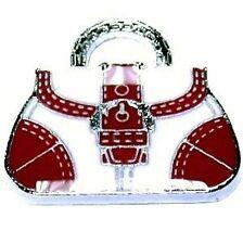 5 pieces Zinc Alloy handbag Enamel Charm Pendants - A0375