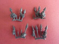 Chaos Space Marine TERMINATOR SET OF 4 TROPHY RACKS - Bits 40K