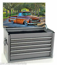 700X400MM AMERICAN STEPSIDE PICKUP TOOL BOX STICKER