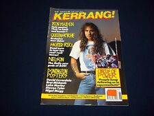 1990 SEPTEMBER 8 KERRANG! MAGAZINE - IRON MAIDEN - MUSIC ISSUE - A 1690