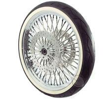 "21"" X 3.5 52 Mammoth Diamond Spoke Wheel 120/70-21 WWW Tire 00-07 Harley Touring"