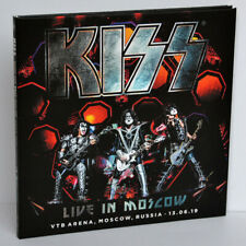 KISS Live In Moscow Russia 13Jun2019 End Of The Road World Tour 2CD Digipak NEW