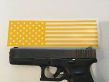 American Flag Handgun Slide Stencil for Duracoat, Cerakote, Krylon, Gunkote!