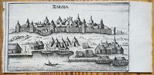 Olearius Original Print Zariza Russia - 1656