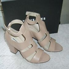 WHISTLES NUDE LEATHER GLADIATOR SANDALS SIZE 6 EUR 39 COST £185