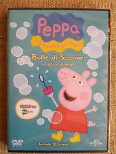 Peppa Pig bolle di sapone e altre storie - DVD cartoni NUOVO SIGILLATO