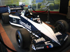 1/10 1983 Brabham BT52 Nelson Piquet F1 RC Body with wing decal for Tamiya F103