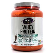NOW Foods NOW Sports Whey Protein Powder - Creamy Chocolate - 2 lbs