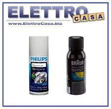 Philips Spray per la Pulizia disinfettante del Rasoio Elettrico Epilatore Braun
