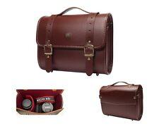 For DSLR Leather Camera Shoulder Bag Insert Case + Travel Belt /Preppie(Big) RB