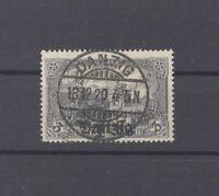 Danzig Mi.Nr. 13, 3 Mark Freimarke 1920 gestempelt, geprüft BPP (29689)