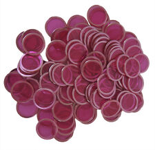 100 COUNT MAGNETIC BINGO CHIPS (PURPLE)