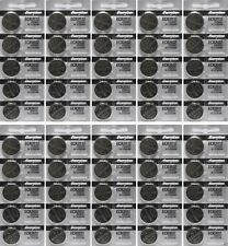 Lot of 50 PC ENERGIZER CR2032 WATCH BATTERIES 3V LITHIUM CR 2032 DL2032 BR2032