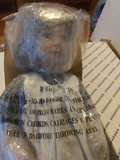 """16"""" PORCELAIN COLLECTIBLE DOLL in Box Brunette Country Look"""