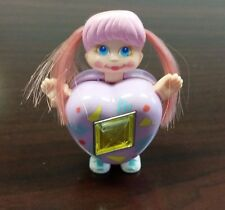 Sweet Secrets Galoob Charm Curli Heart Locket Lavender Series 3 Figure 1984 1986