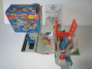 Micro Machines Super City Toolbox Action Playset W BOX Set Lewis Galoob complete