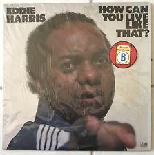 [SOUL/FUNK/JAZZ]~EXC LP~EDDIE HARRIS~How Can You Live Like That~[1977~PROMO~ATLA