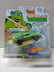 Hot Wheels Leonardo Teenage Mutant Ninja Turtles Brand New