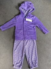 Gap Cotton Blend Striped Clothing (0-24 Months) for Girls
