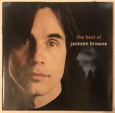 JACKSON BROWNE THE BEST OF JACKSON BROWNE CD ELEKTRA 1997 USA PRESS NR MINT