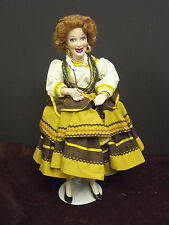 """I Love Lucy """"Queen Of The Gypsies"""" Porcelain 17"""" Doll Hamilton Collection"""