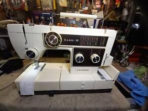 JANOME  Combi 10 Sewing Machine & Overlocker in 1