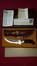 BUCK KALINGA WITH ORIGINAL BOX LEATHER SHEATH AND PAPER WORK