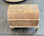 Moroccan Old Fine Tuareg Brass jewelry Chest,Mauritania Chest,Vintage Chest,