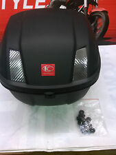 KYMCO TOP CASE from LIKE 200 - MATTE BLACK - USED  *REDUCED PRICE