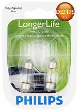 Philips  DE3175 LongerLife Miniature Bulb, 2-Pack DE3175LLB2