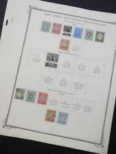 Edw1949Sell : East Africa & Uganda Choice Vf, Mint Og & Used collection Cat $479