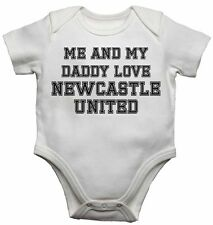 Me and My Daddy Amour Newcastle United, pour Football Ventilo bébé Gilets