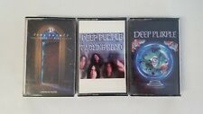 Deep Purple - Lot of 3 Cassettes - Machine Head - Slave and Masters - House Blue