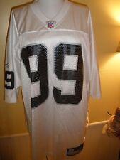Raiders Reebok NFL SAPP #99 Jersey Men's Large Black/White