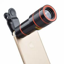 Ultra Premium Telephoto Lens Released 12x Zoom Telescope With Clip Mobile Phone