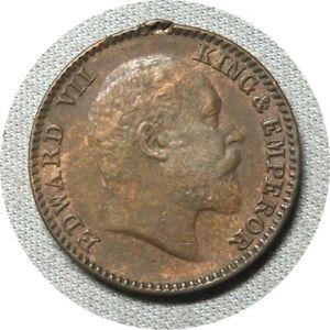 elf India British 1/12 Anna (1 Pie) 1908  Edward VII