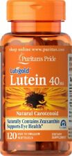 Puritans Pride Lutein With Zeaxanthin 40mg X120 Softgels Support Eye Health New