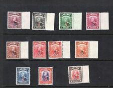 Sarawak 1947 Crown Colony overprint part set MNH
